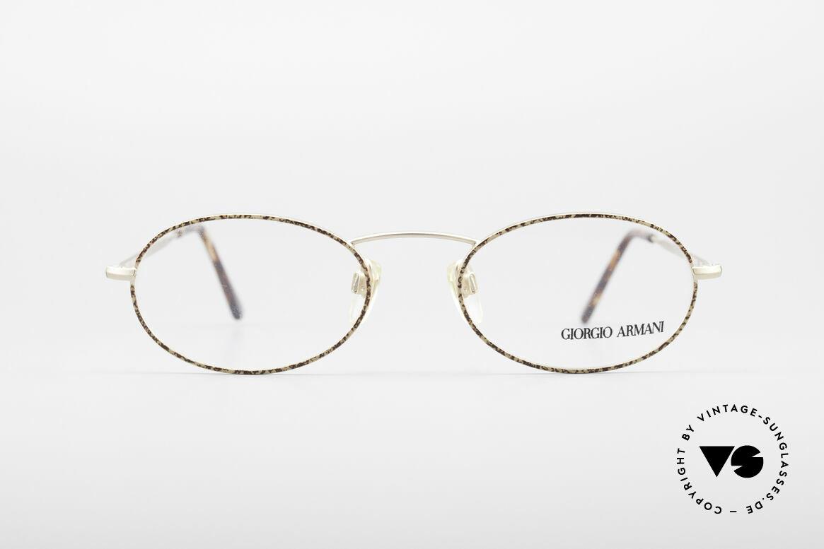Giorgio Armani 125 Ovale Vintage Fassung