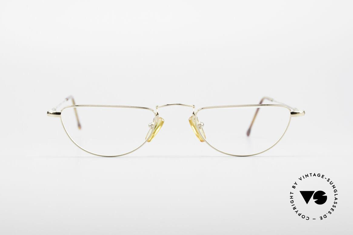 Giorgio Armani 254 Designer Lesebrille, vintage 80er Giorgio Armani Lesebrillengestell, Passend für Herren und Damen
