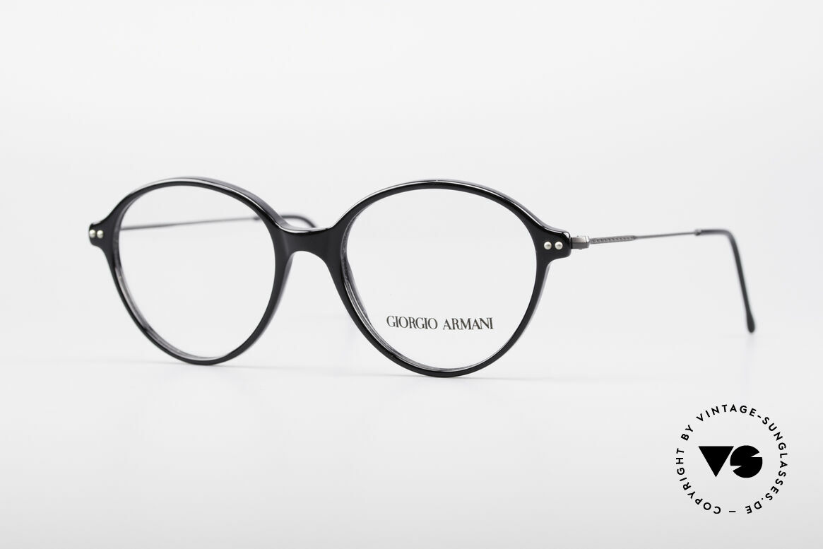 Giorgio Armani 374 90er Unisex Vintage Brille, Giorgio Armani, Mod. 374, col. 181, Gr. 49-16, 140, Passend für Herren und Damen