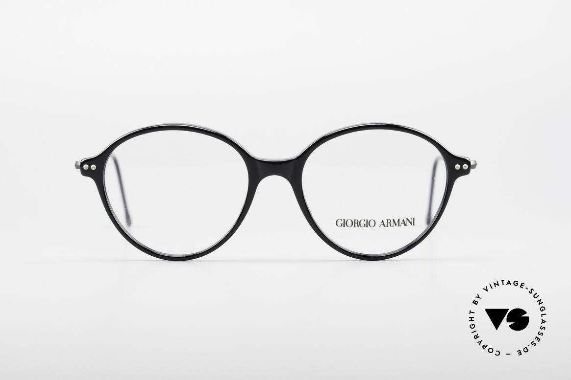 """Giorgio Armani 374 90er Unisex Vintage Brille, schlichte & puristische GA Fassung """"Unisex-Brille"""", Passend für Herren und Damen"""