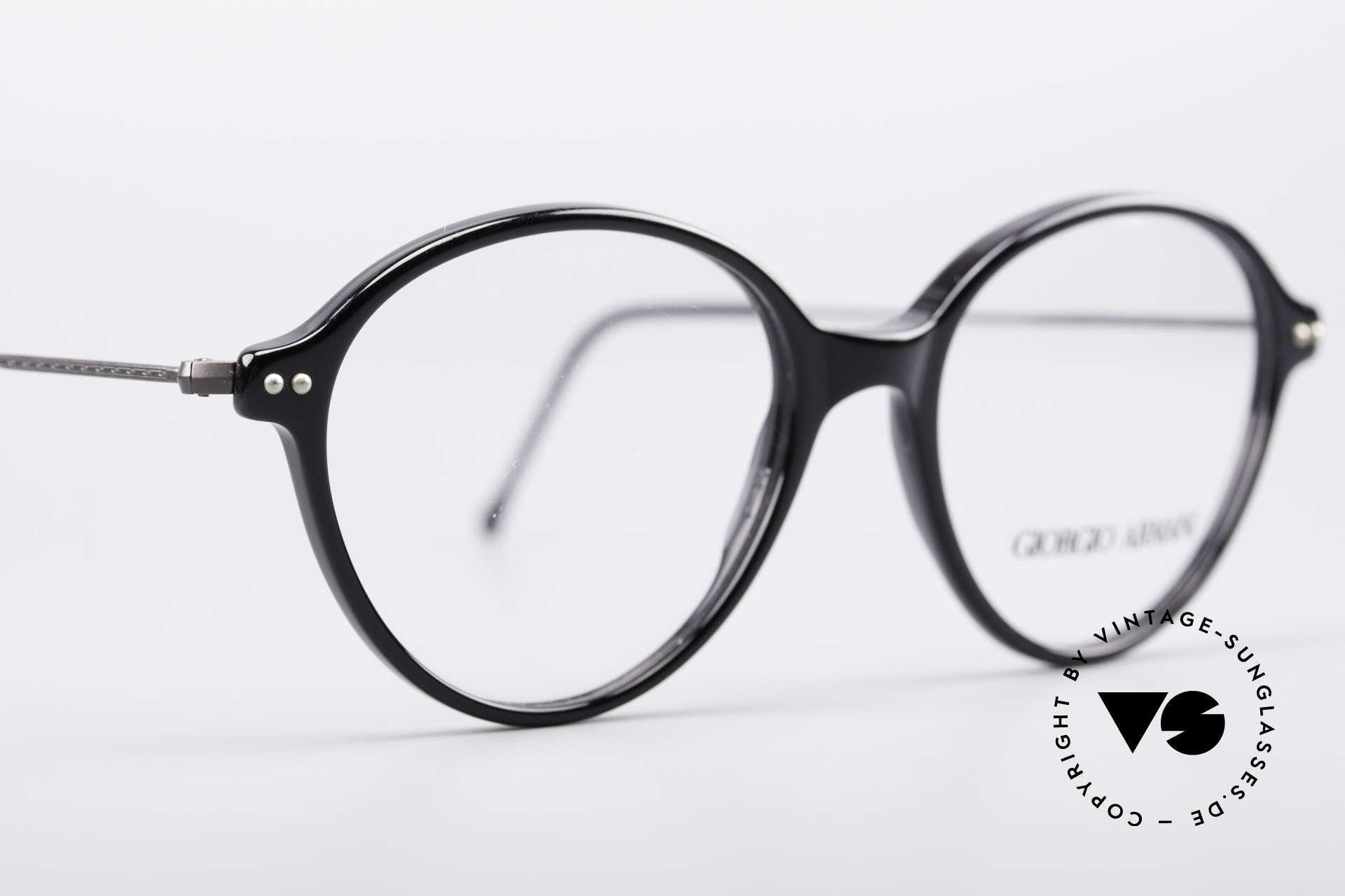 Giorgio Armani 374 90er Unisex Vintage Brille, ein ungetragenes G. Armani Original aus den 90ern, Passend für Herren und Damen