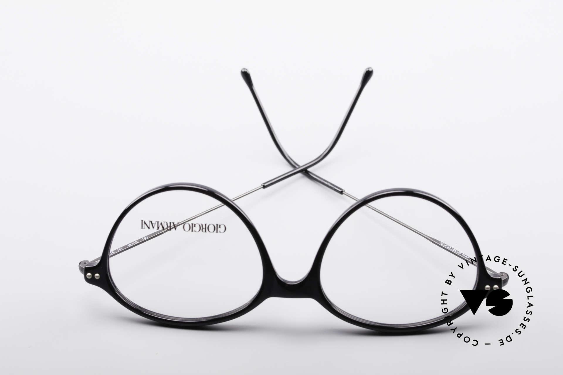 Giorgio Armani 374 90er Unisex Vintage Brille, Größe: small, Passend für Herren und Damen