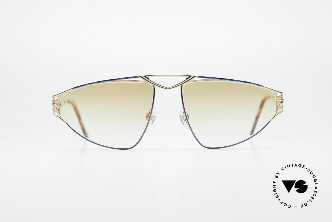 St. Moritz 4410 90er Luxus Sonnenbrille, kostbares Designerstück mit leicht getönten Gläsern, Passend für Damen