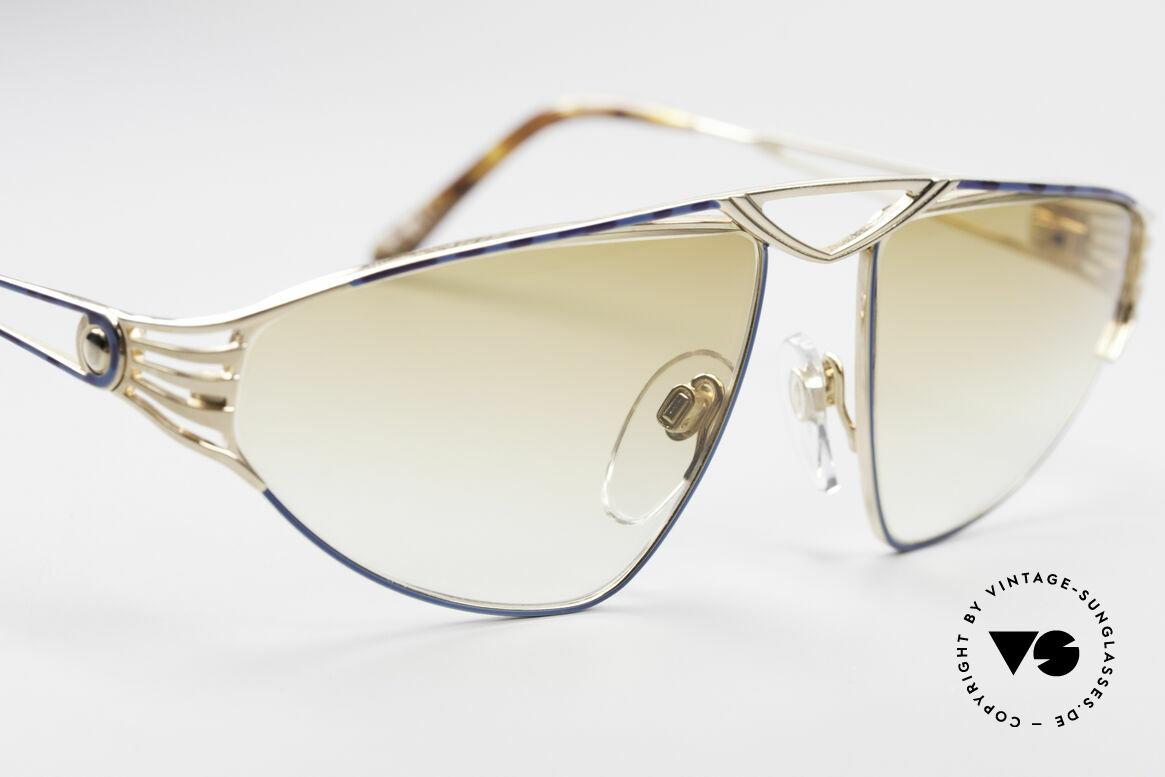 St. Moritz 4410 90er Luxus Sonnenbrille, ungetragen (wie alle unsere seltenen St. Moritz Brillen), Passend für Damen