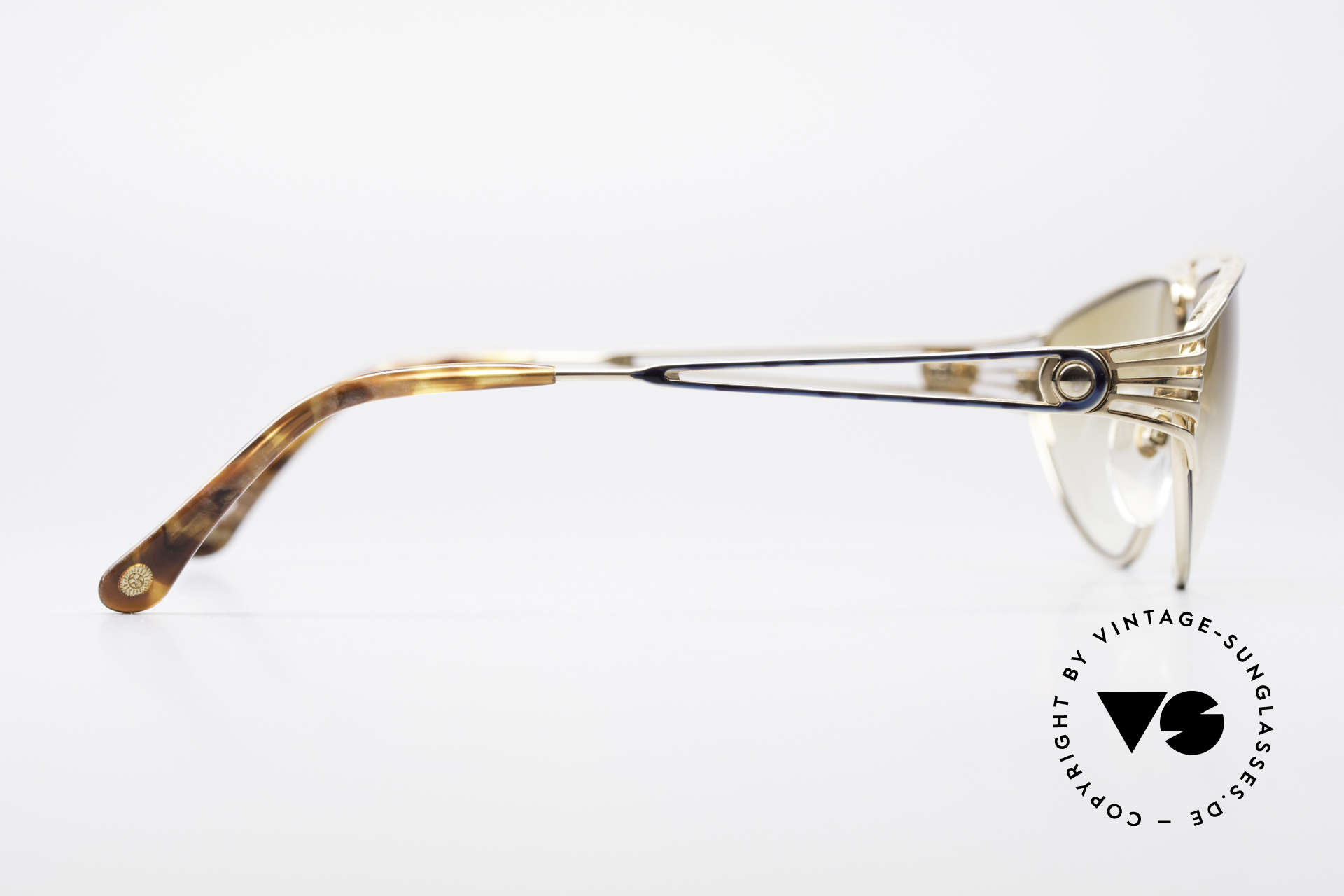 St. Moritz 4410 90er Luxus Sonnenbrille, KEINE Retrobrille, sondern 100% vintage 90er Original!, Passend für Damen