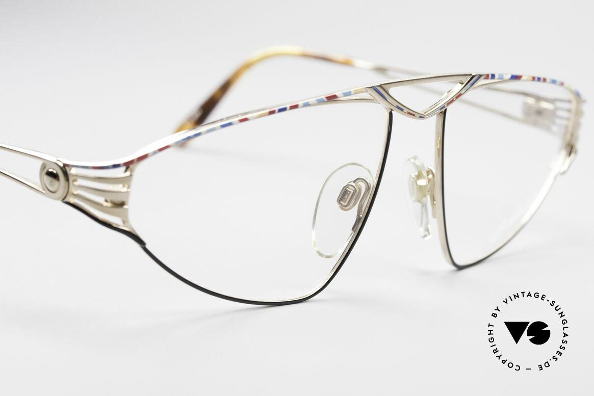 St. Moritz 4410 Luxus Designer Brille, ungetragen (wie alle unsere seltenen St. Moritz Brillen), Passend für Damen