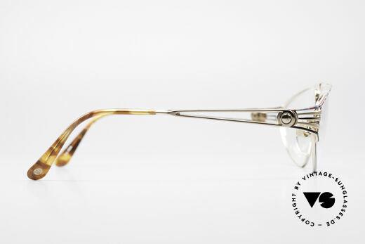 St. Moritz 4410 Luxus Designer Brille, KEINE Retrobrille, sondern 100% vintage 90er Original!, Passend für Damen