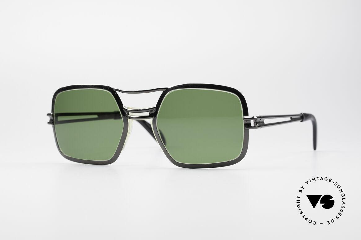 Saphira 102 Cari Zalloni 60er Design, geschichtsträchtige 60er Jahre Saphira Sonnenbrille, Passend für Herren