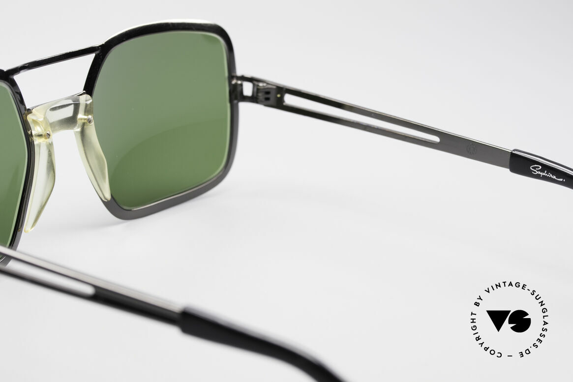 Saphira 102 Cari Zalloni 60er Design, der Kunststoff 'Optyl' wurde erst 1968 veröffentlicht, Passend für Herren