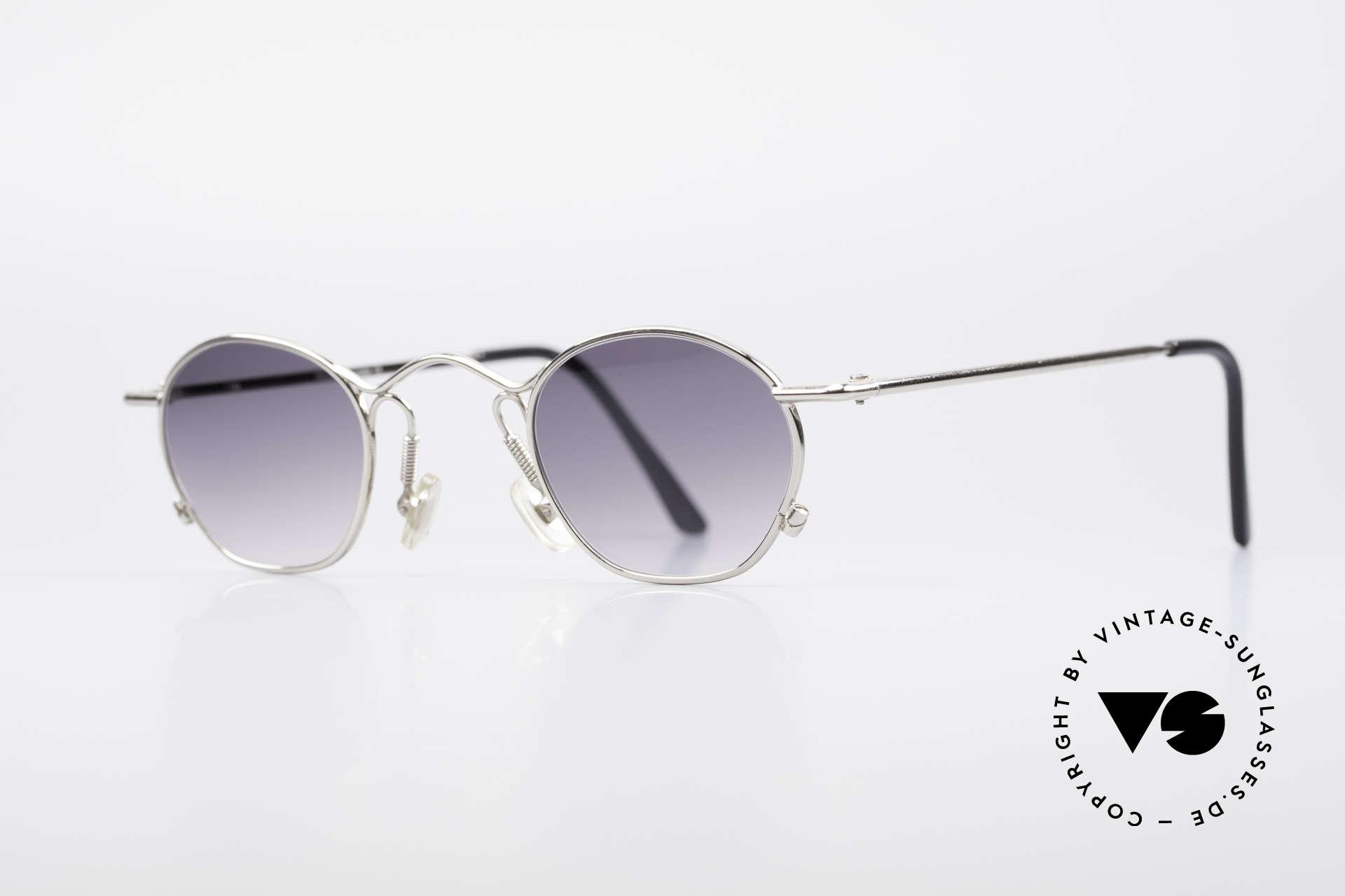 IDC 101 Echt Vintage No Retro Brille, zeitloses Unisex-Modell in SEHR KLEINER Größe, Passend für Herren und Damen