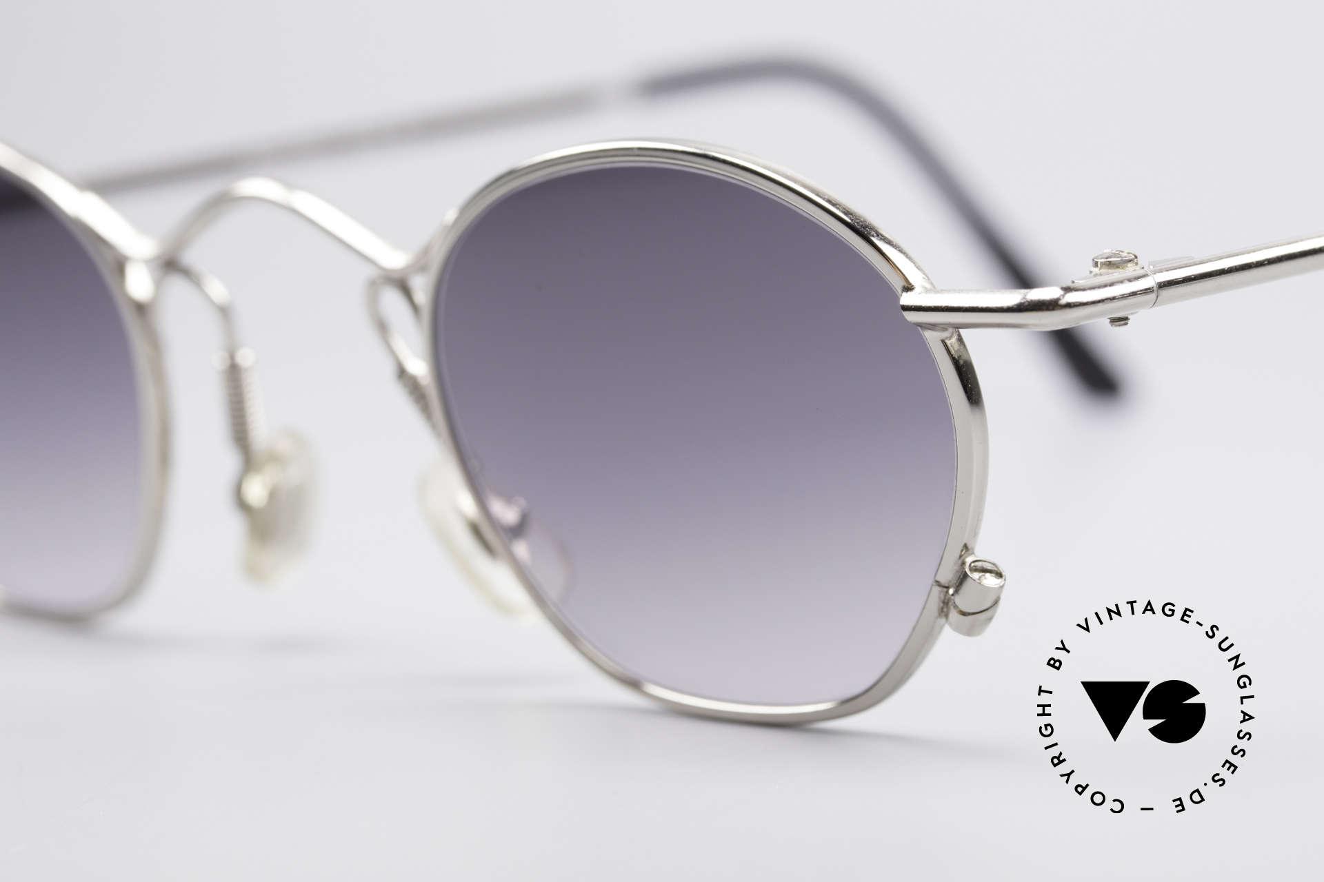 IDC 101 Echt Vintage No Retro Brille, außergewöhnliche Rahmen-Details (typisch IDC), Passend für Herren und Damen