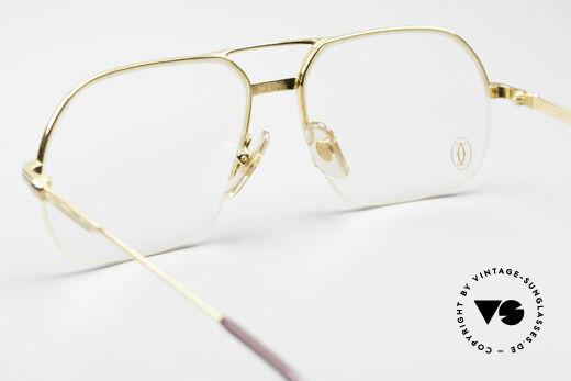 Cartier Orsay Halbrand Luxus Herrenbrille