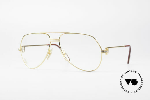 Cartier Vendome LC - S David Bowie Brille Details