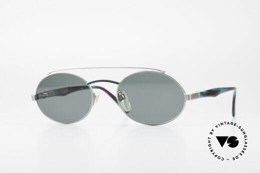 Davidoff 305 Ovale Vintage Herrenbrille Details