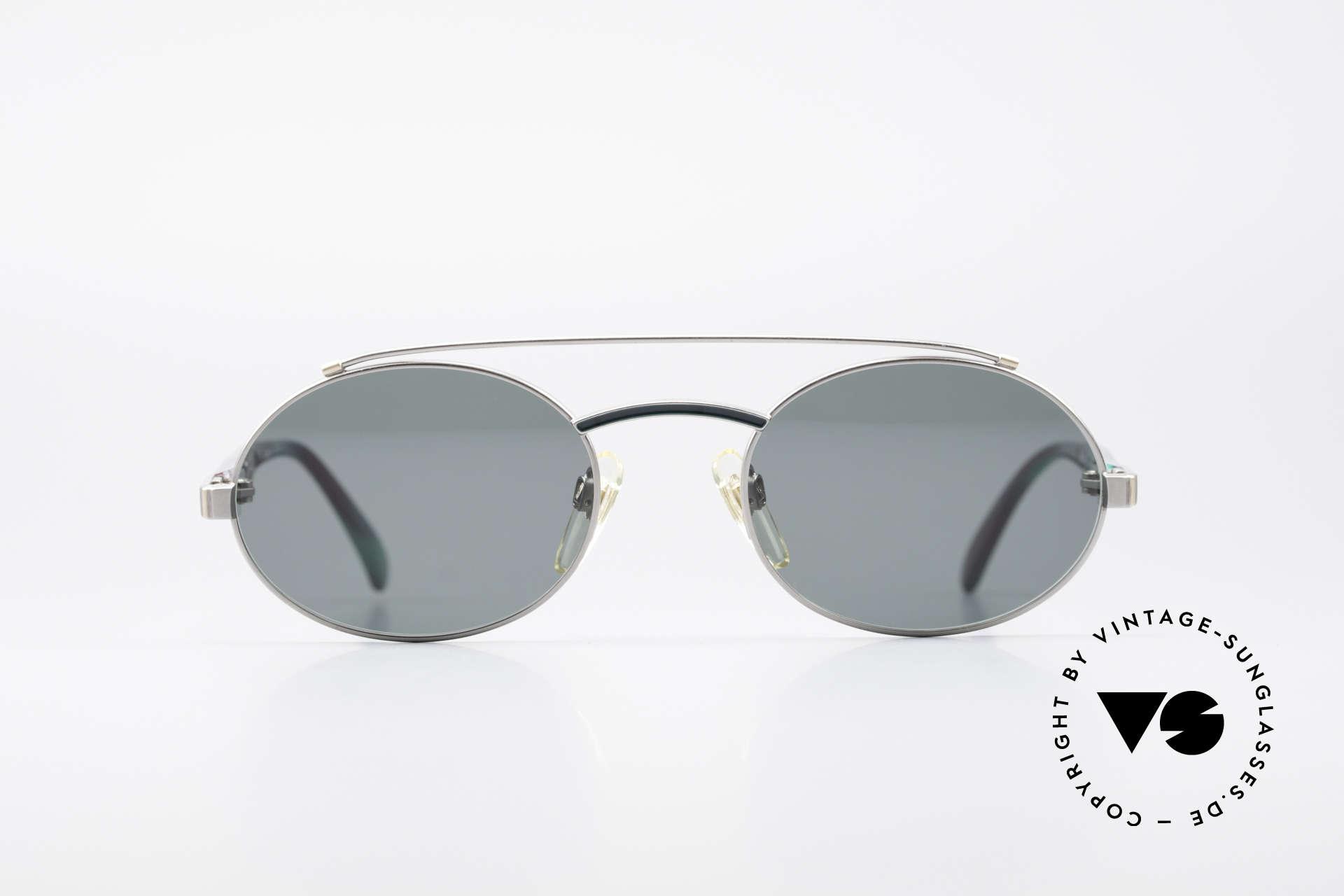 Davidoff 305 Ovale Vintage Herrenbrille, solide Verarbeitung der alten Brillenkunst, Top-Qualität, Passend für Herren