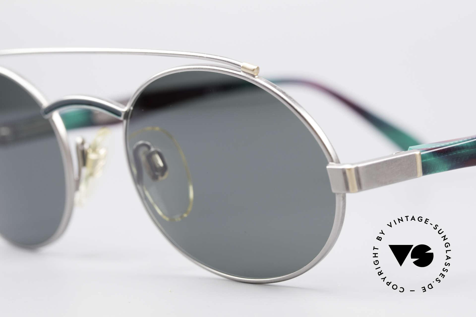 Davidoff 305 Ovale Vintage Herrenbrille, Gentleman-Brille: stilvoll, elegant & zudem sehr selten, Passend für Herren
