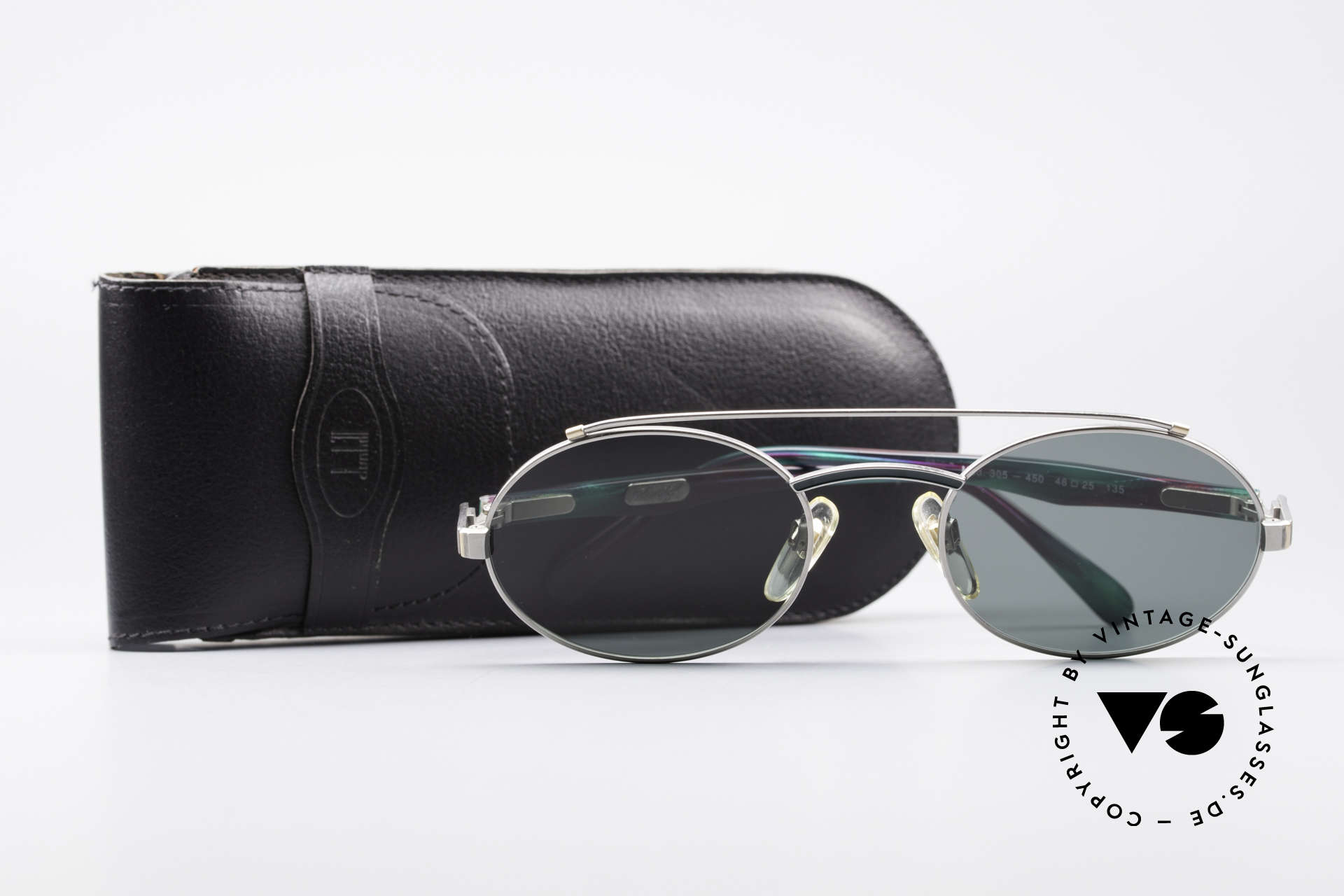 Davidoff 305 Ovale Vintage Herrenbrille, Größe: medium, Passend für Herren