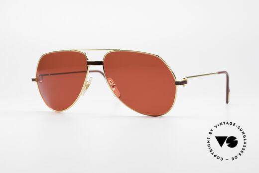 Cartier Vendome Laque - M Luxus Vintage Sonnenbrille Details