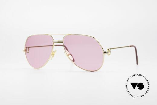 Cartier Vendome LC - M Michael Douglas Sonnenbrille Details