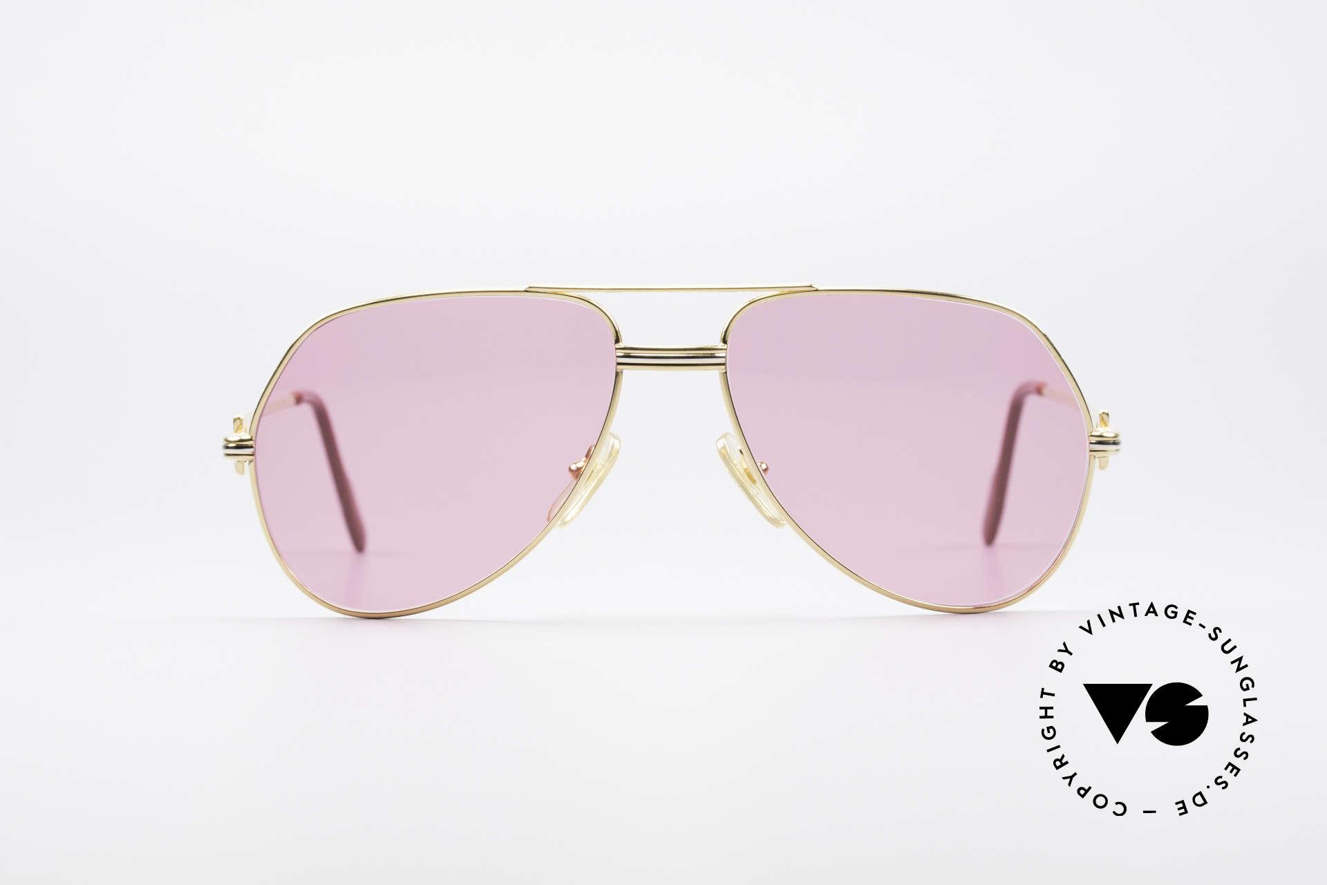 Cartier Vendome LC - M Michael Douglas Sonnenbrille, wurde 1983 veröffentlicht & dann bis 1997 produziert, Passend für Herren und Damen