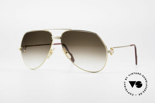 Cartier Grand Pavage Diamanten Brille Details