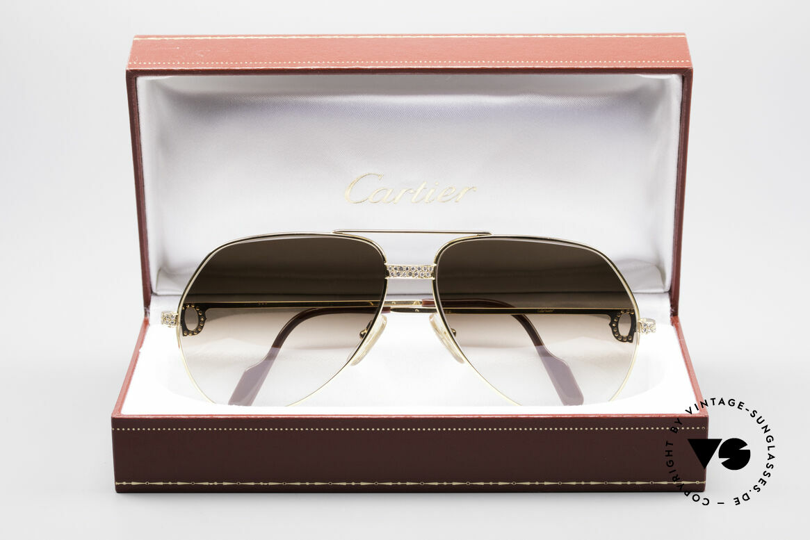 Cartier Grand Pavage Diamanten Brille