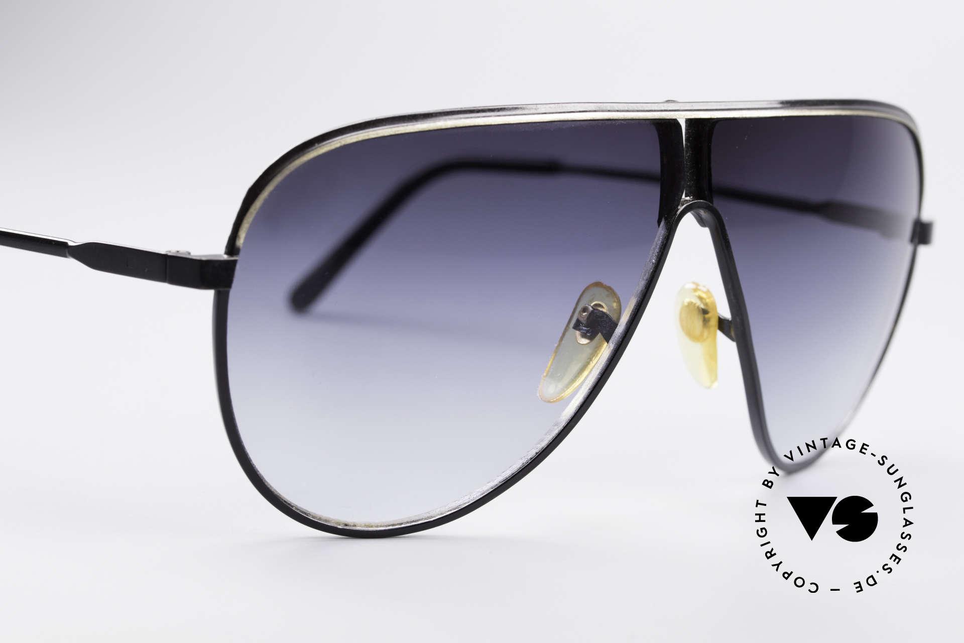 Linda Farrow 6031 Scarface Filmbrille, häufig nur noch als Scarface-Sonnenbrille bezeichnet, Passend für Herren