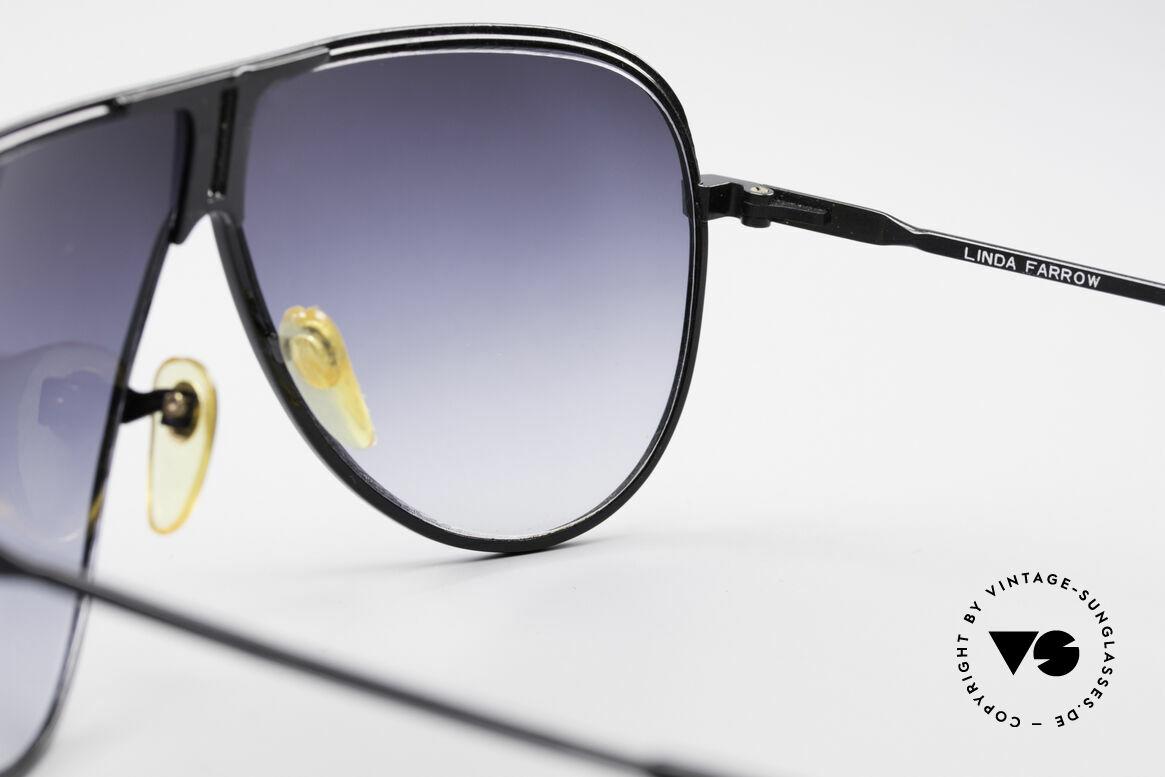 Linda Farrow 6031 Scarface Filmbrille, ein kostbares Sammlerstück (eigentlich unbezahlbar), Passend für Herren