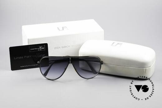 Linda Farrow 6031 Scarface Filmbrille, entsprechend 25.000 Euro, da NICHT ZUM VERKAUF!!, Passend für Herren