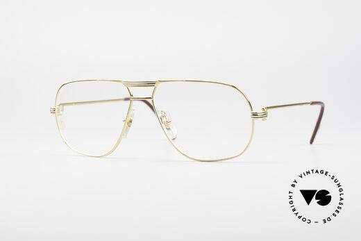 Cartier Tank - M Luxus Designer Brille Details