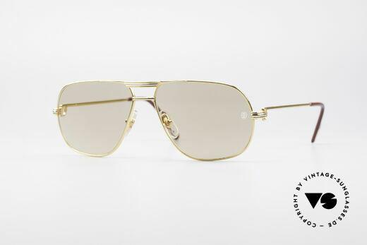 Cartier Tank - M Luxus Designer Sonnenbrille Details