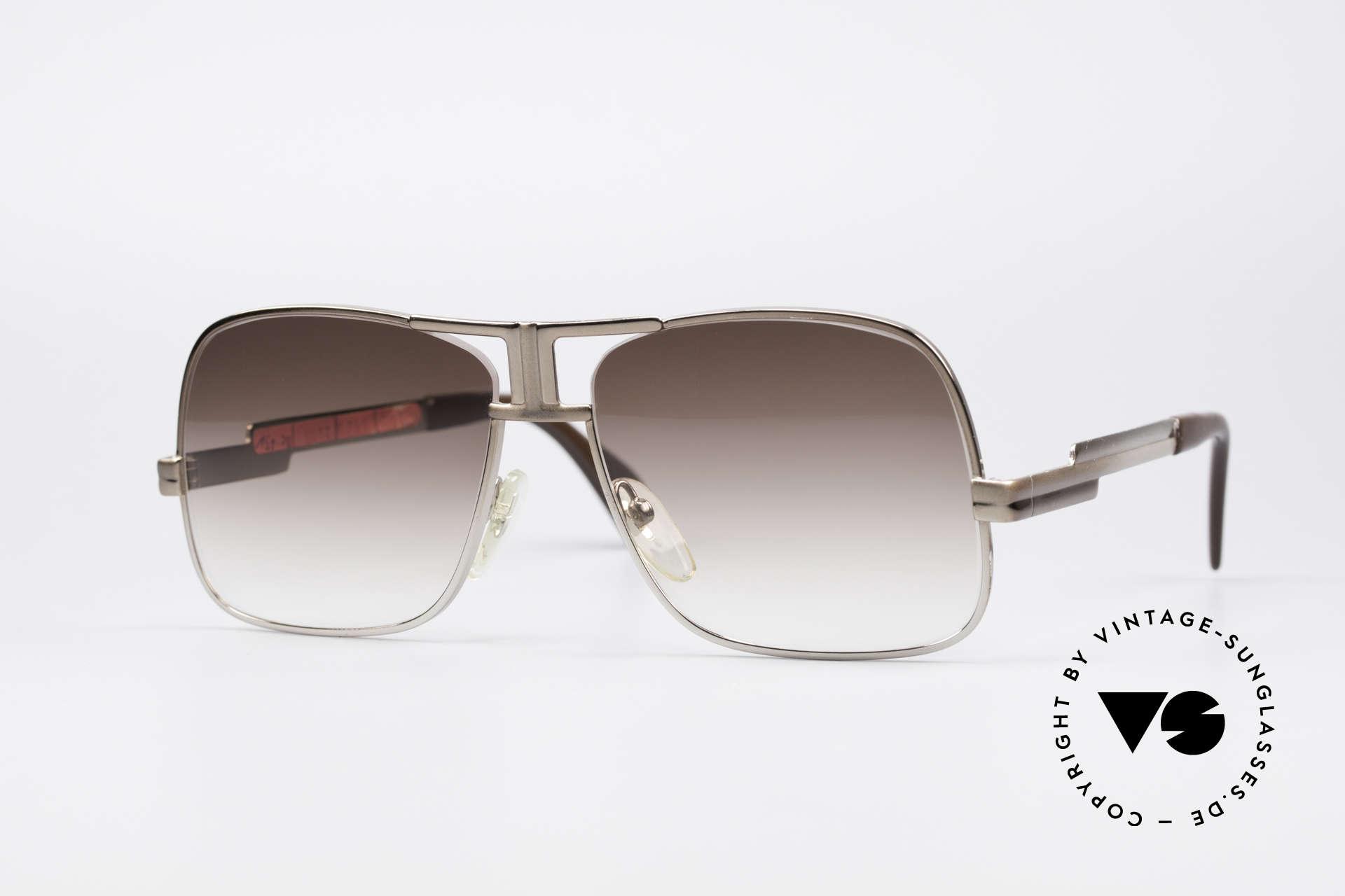 Cazal 701 Ultra Seltene 70er Sonnenbrille, extrem seltene Cazal Sonnenbrille der späten 1970er, Passend für Herren