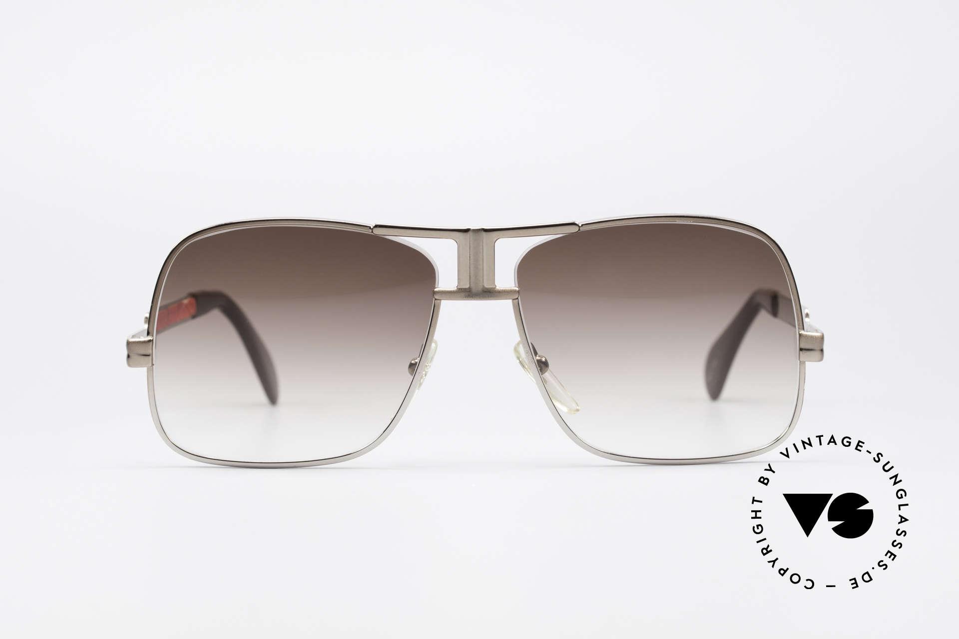 Cazal 701 Ultra Seltene 70er Sonnenbrille, monumentale Fertigungsqualität 'made in Germany', Passend für Herren