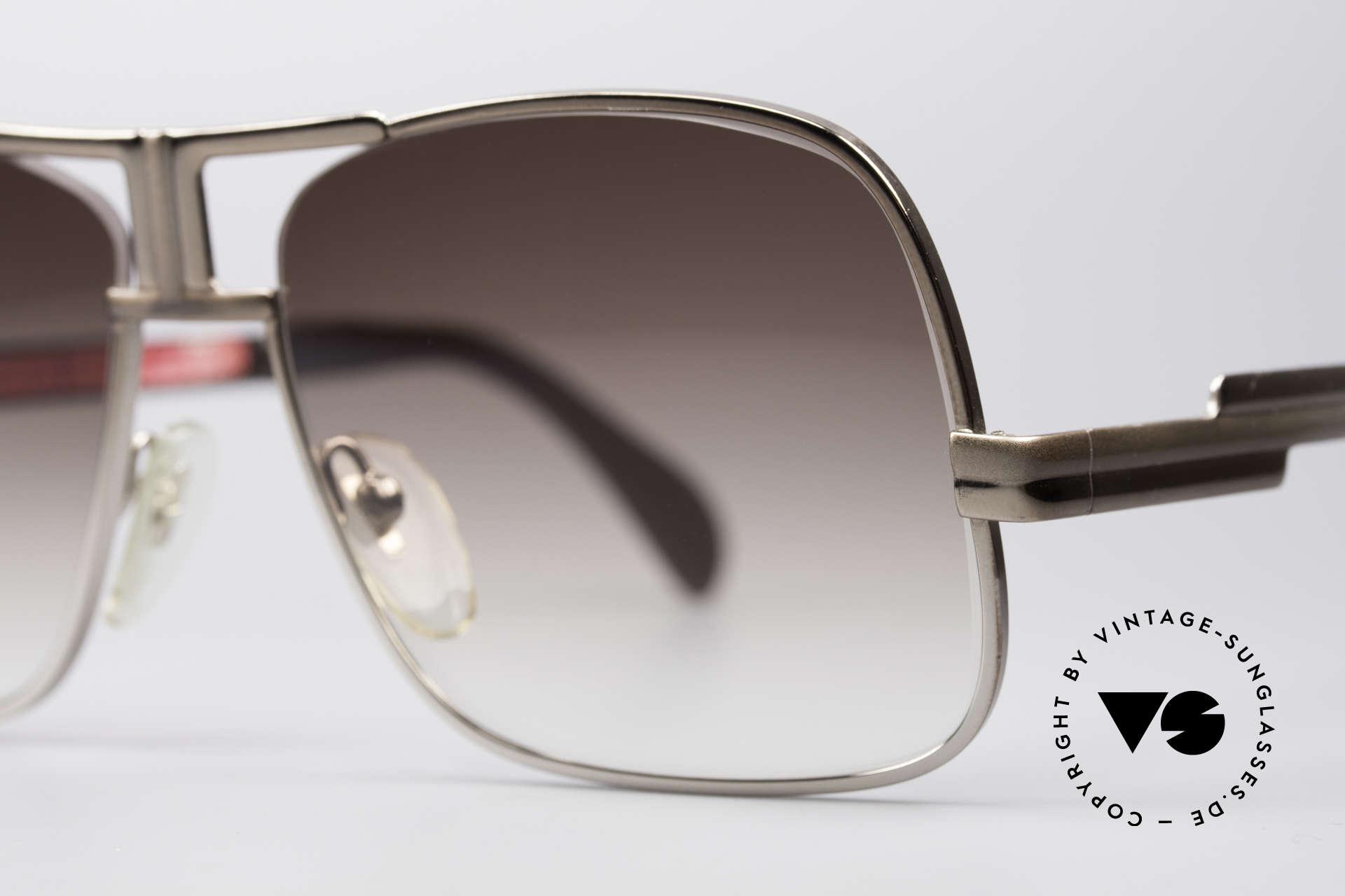 Cazal 701 Ultra Seltene 70er Sonnenbrille, Top-Qualität: gemacht, um ein Leben lang zu halten, Passend für Herren