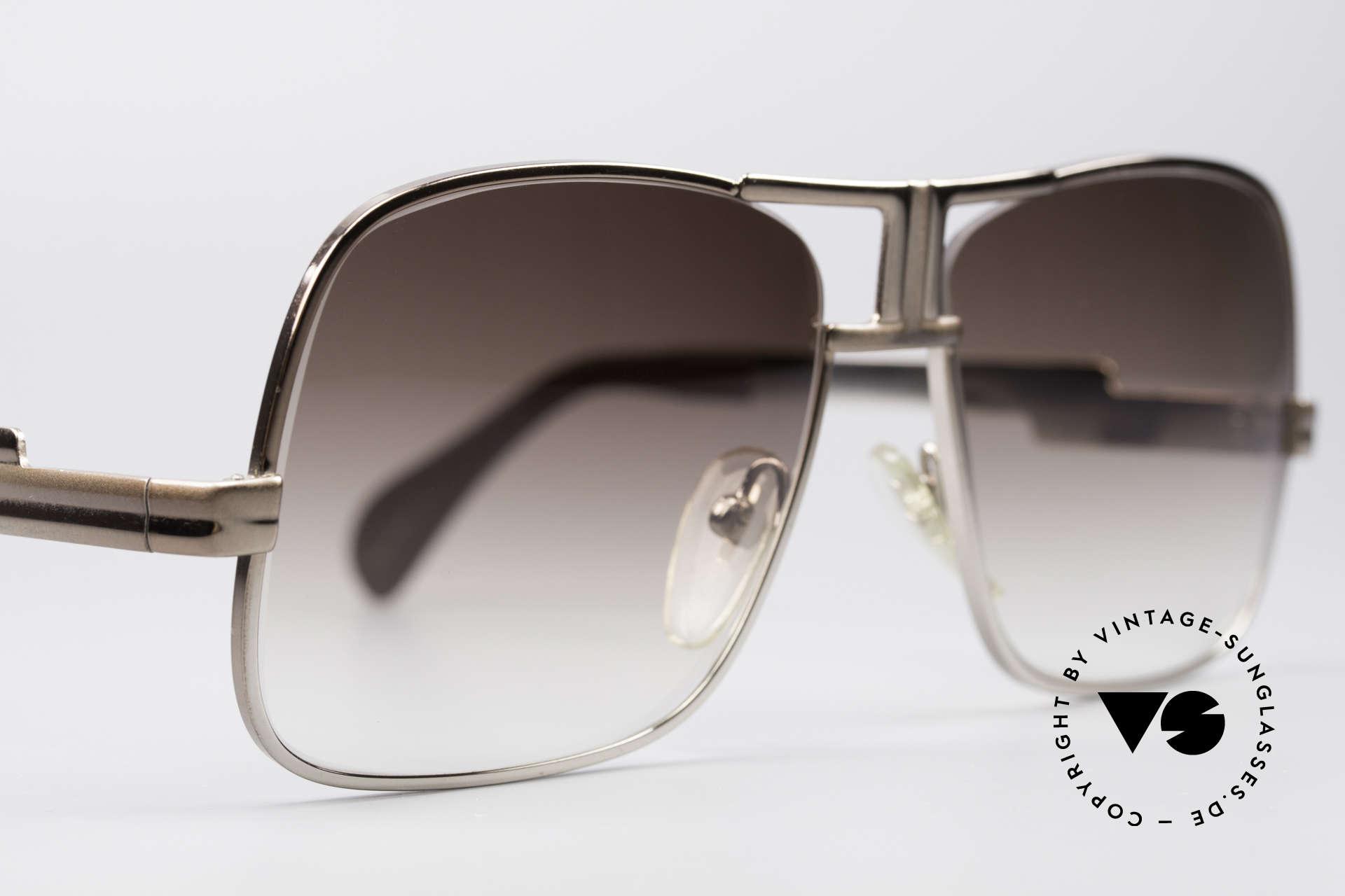 Cazal 701 Ultra Seltene 70er Sonnenbrille, ungetragener Altbestand; Einzelstück; echte Rarität, Passend für Herren