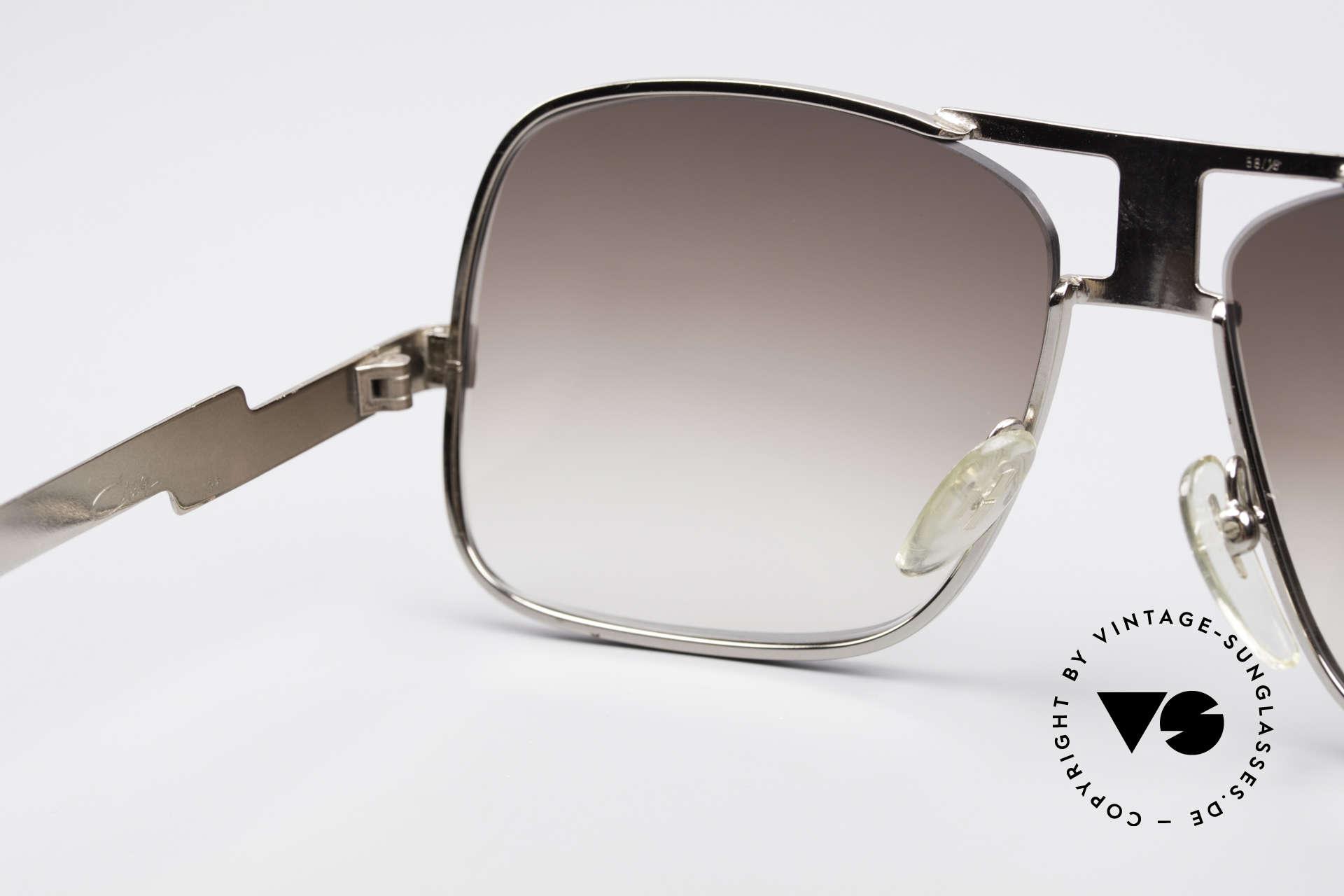 Cazal 701 Ultra Seltene 70er Sonnenbrille, KEINE Retrobrille, sondern ein 40 Jahre altes Original, Passend für Herren