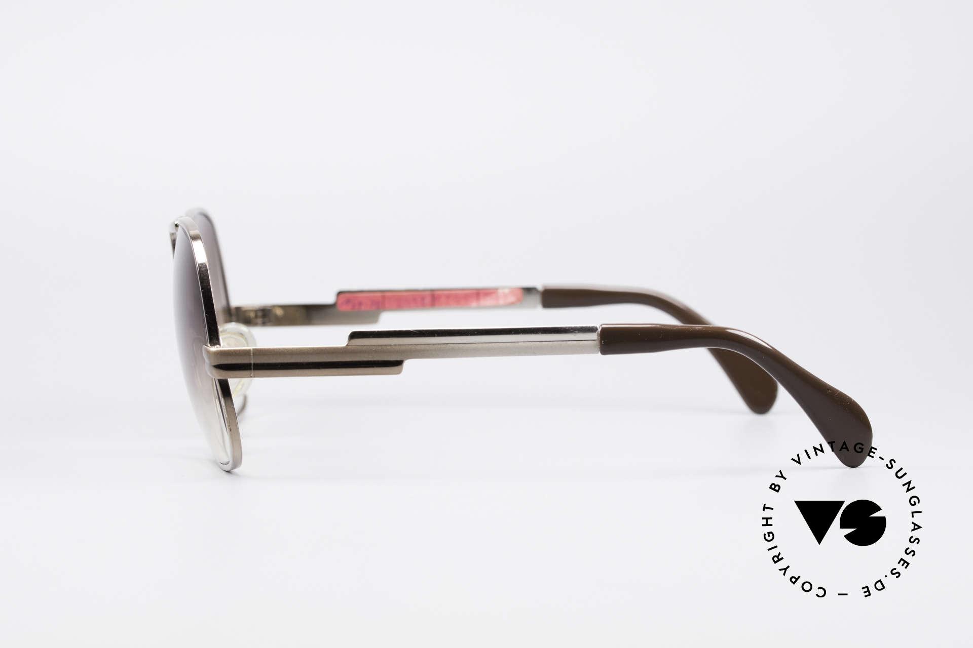 Cazal 701 Ultra Seltene 70er Sonnenbrille, die Fassung (Gr. 58/18) kann beliebig verglast werden, Passend für Herren