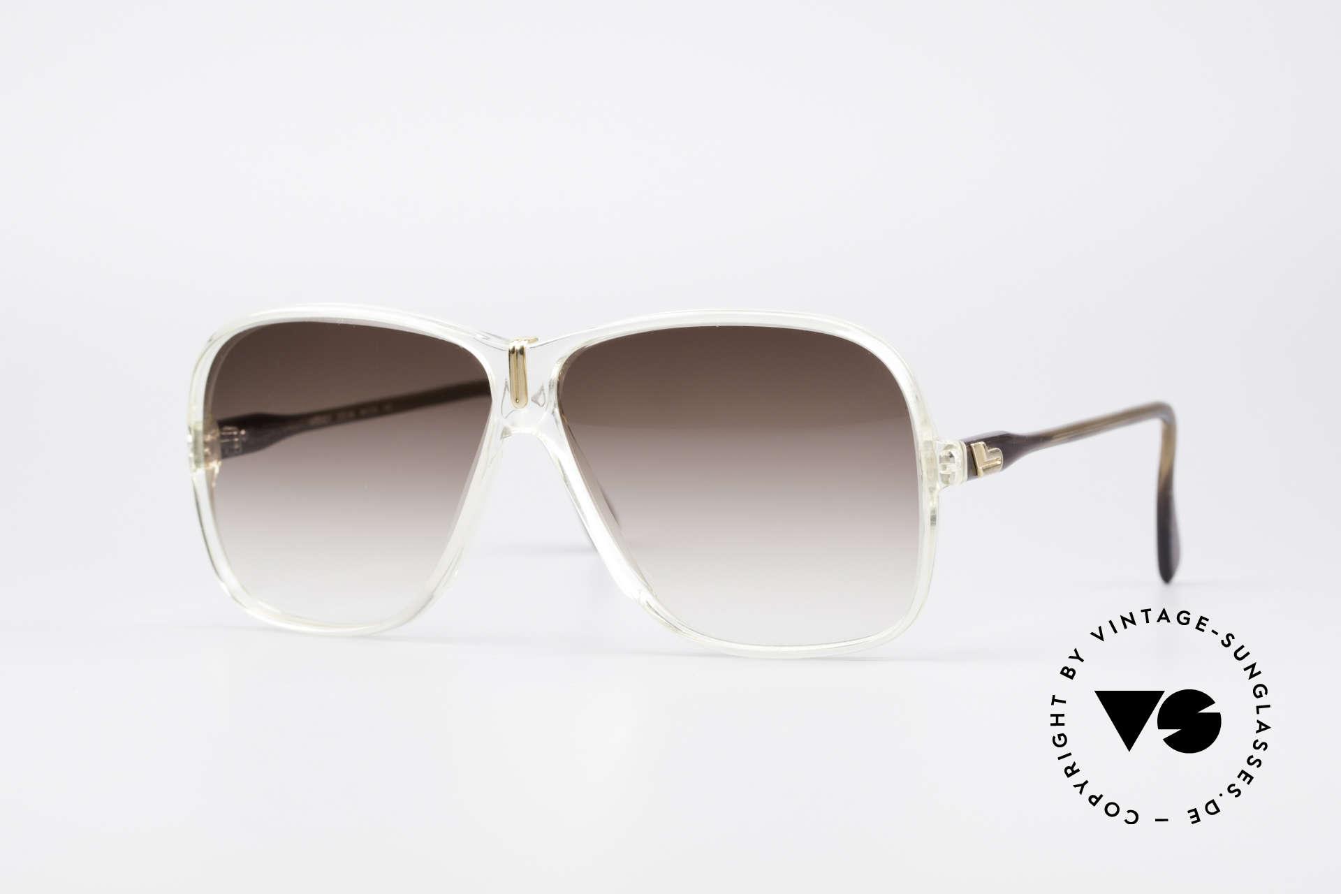 Cazal 621 West Germany Sonnenbrille, Cazal-Brille aus den späten 70ern / frühen 80ern, Passend für Herren