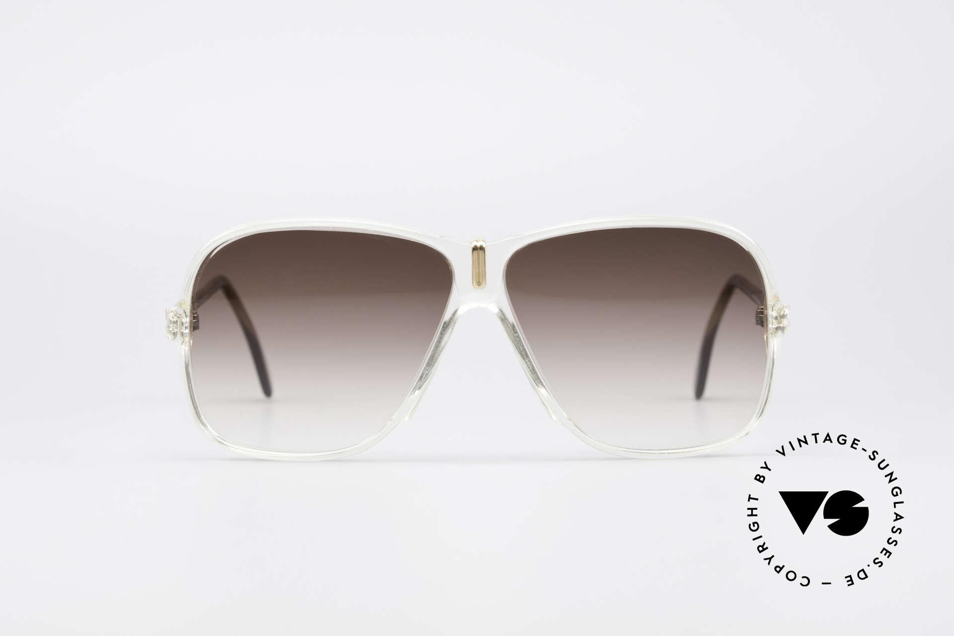 Cazal 621 West Germany Sonnenbrille, seltenes Stück (noch mit dem alten Cazal Logo), Passend für Herren