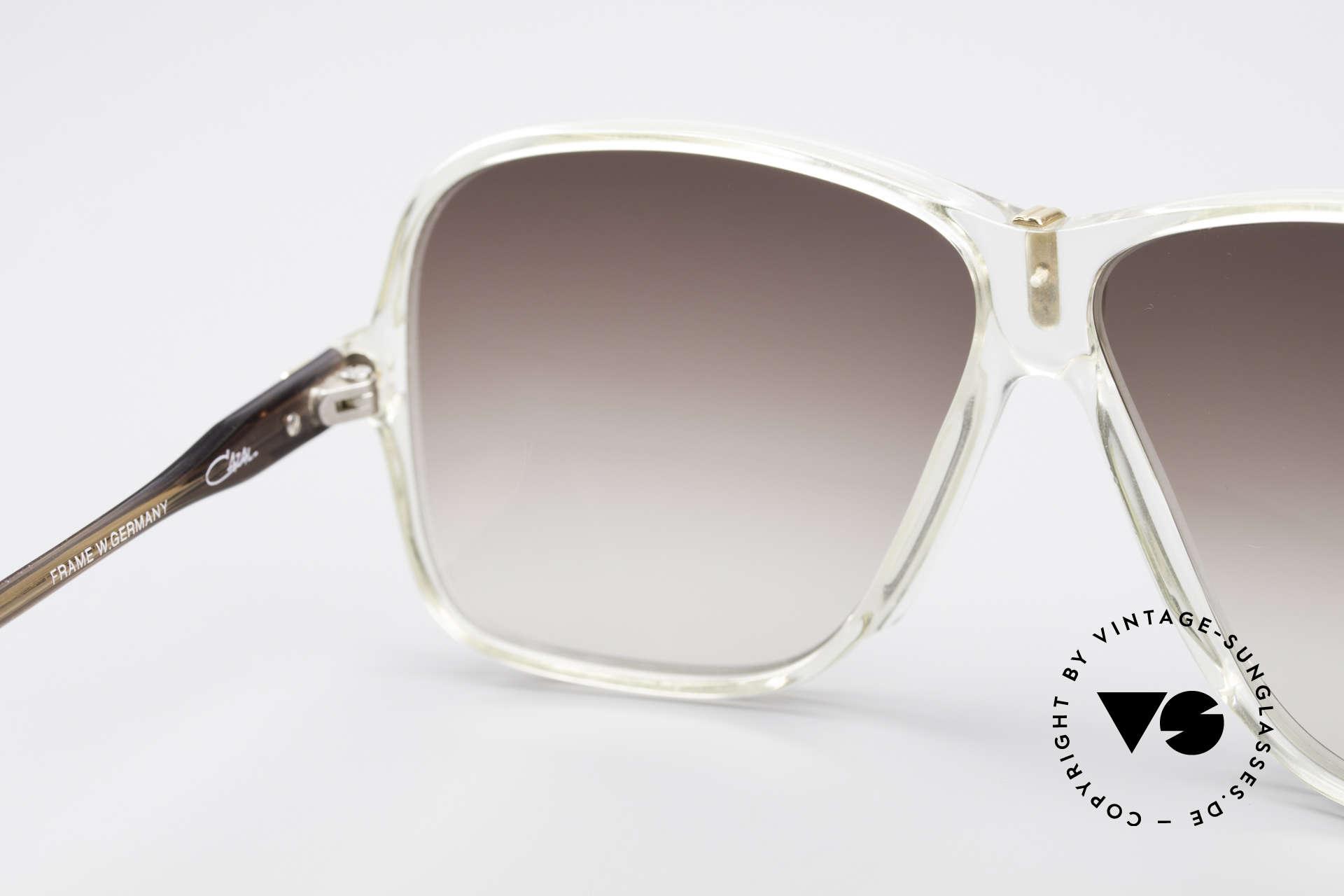 Cazal 621 West Germany Sonnenbrille, Sonnengläser in braun-Verlauf (100% UV Schutz), Passend für Herren