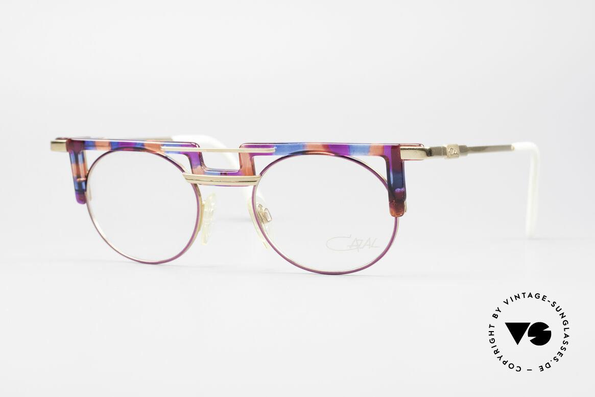 Cazal 745 Markante 90er Vintage Brille, markante Cazal vintage Brillenfassung von 1990/91, Passend für Damen