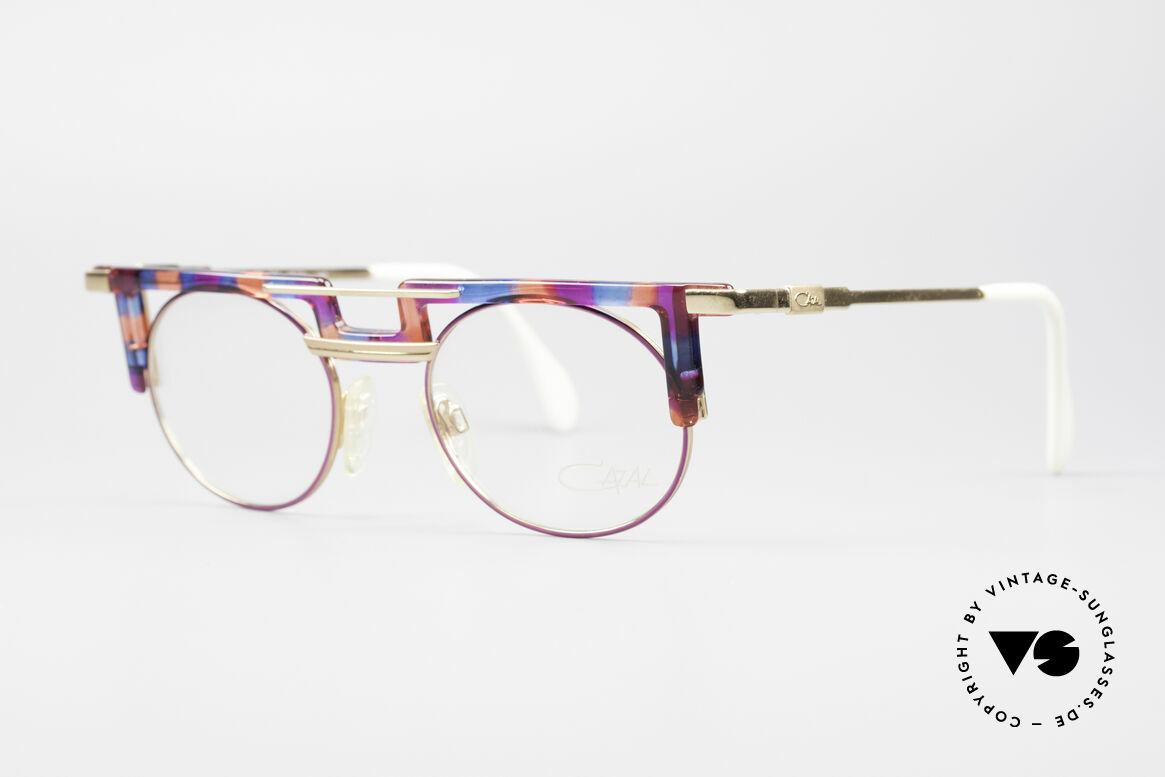 Cazal 745 Markante 90er Vintage Brille, auffällig einzigartig (unverwechselbar CAri ZALloni), Passend für Damen
