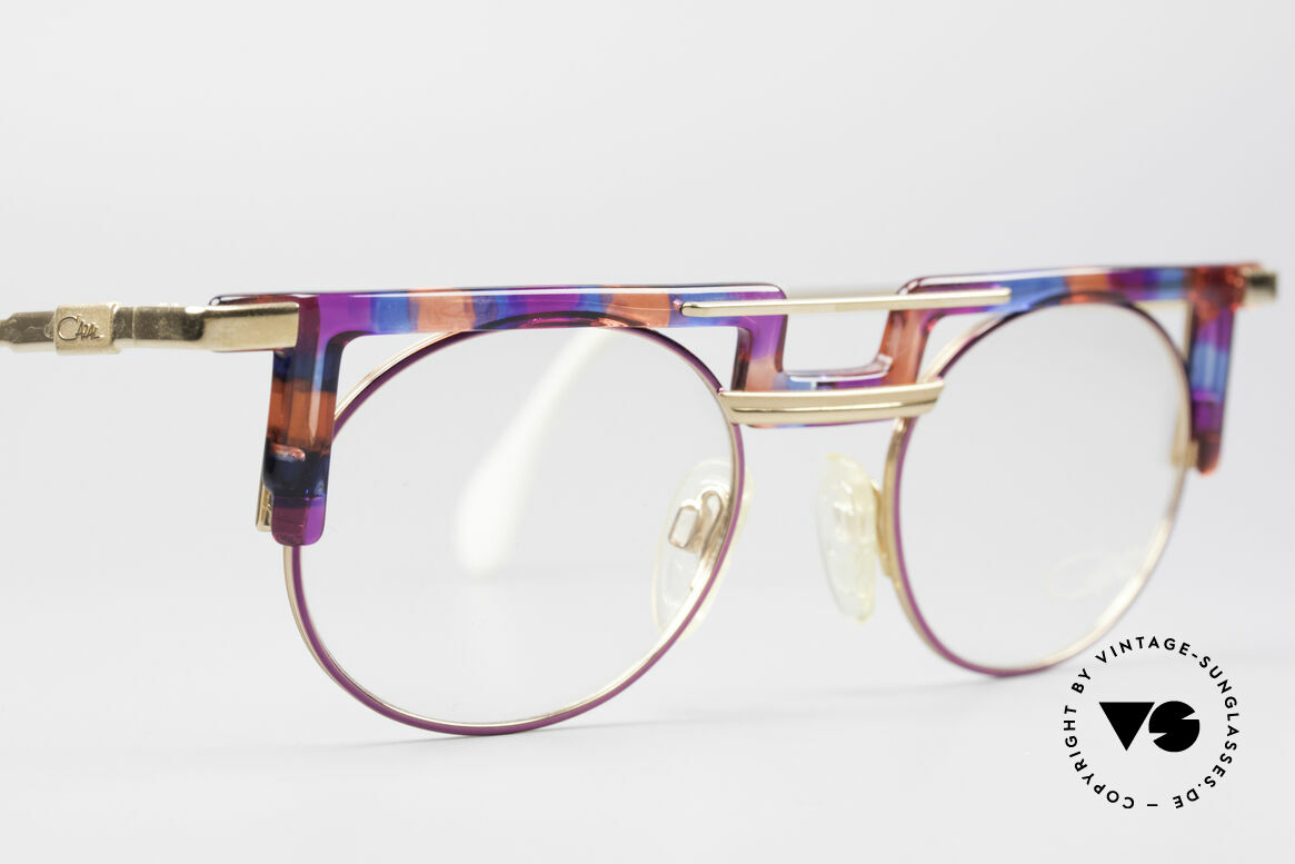 Cazal 745 Markante 90er Vintage Brille, die Fassung kann natürlich beliebig verglast werden, Passend für Damen