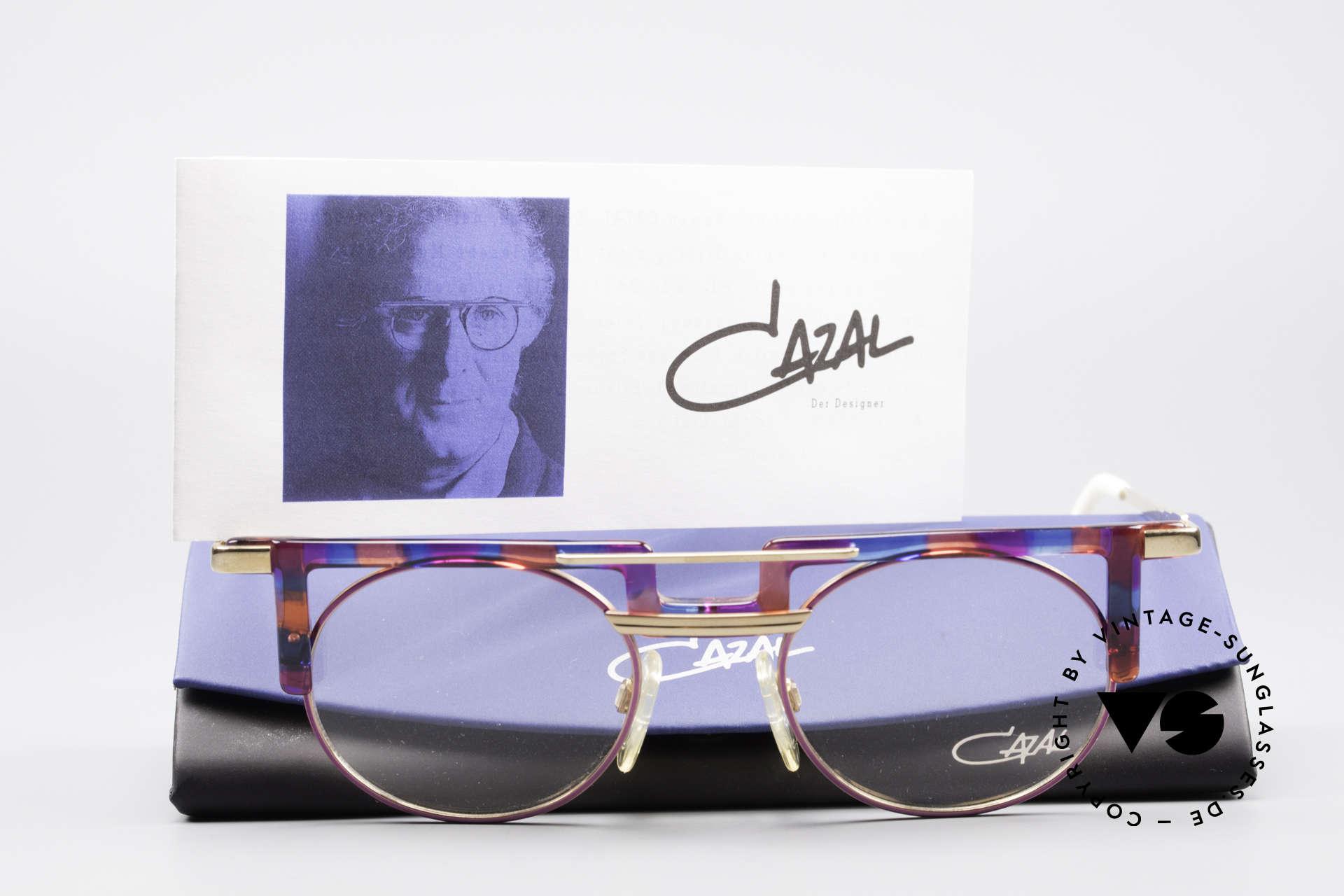 Cazal 745 Markante 90er Vintage Brille, Größe: large, Passend für Damen
