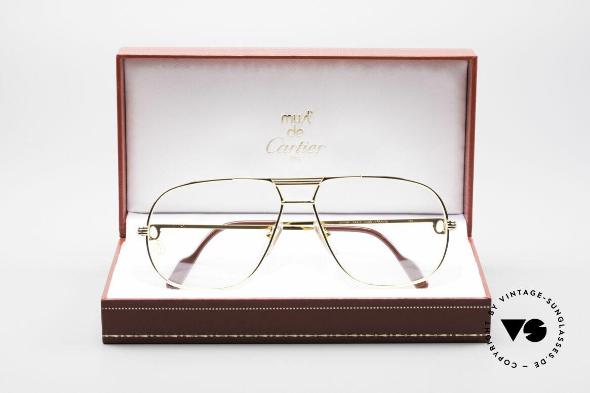 Cartier Tank - L Luxus Designer Brille