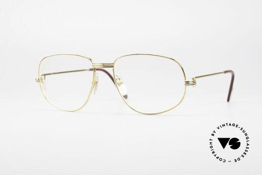 Cartier Romance LC - L Luxus Designer Brille Details