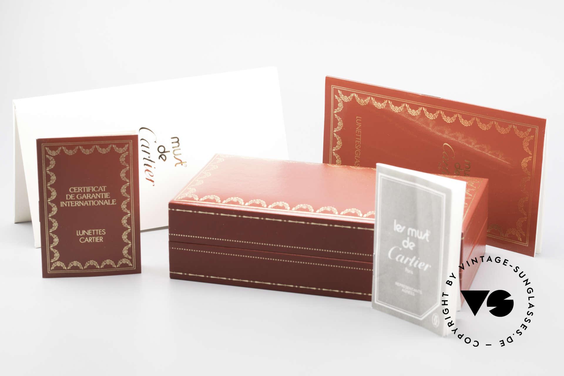 Cartier Romance LC - M Luxus Designer Fassung, KEINE RETRObrille; ein 30 Jahre altes vintage ORIGINAL, Passend für Herren und Damen