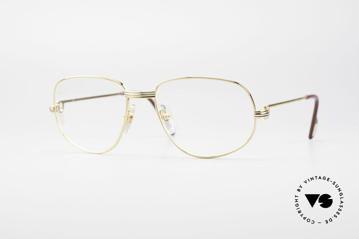 Cartier Romance LC - M Luxus Designer Fassung, vintage Cartier Luxus-Brillenfassung; Modell ROMANCE, Passend für Herren und Damen