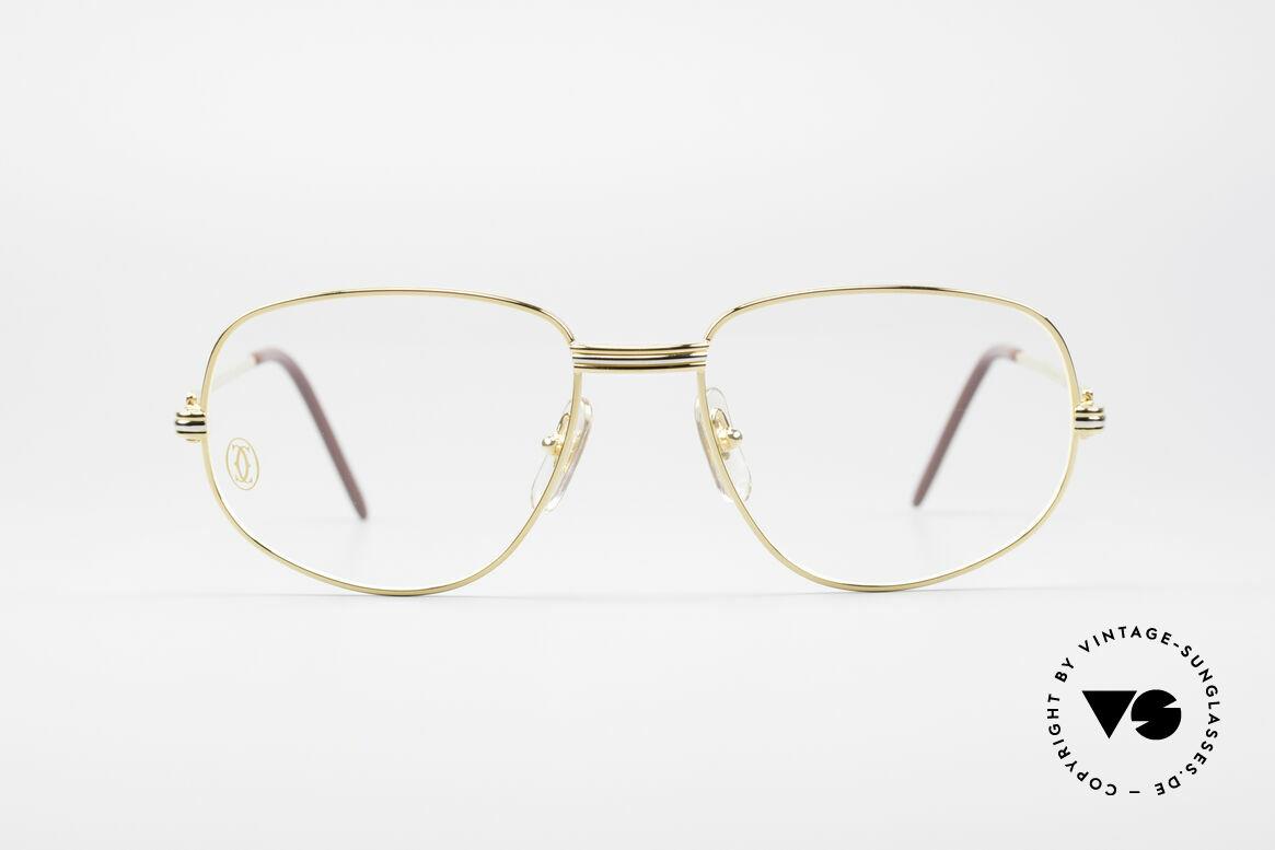 Cartier Romance LC - M Luxus Designer Fassung, wurde 1986 veröffentlicht und dann bis 1997 produziert, Passend für Herren und Damen