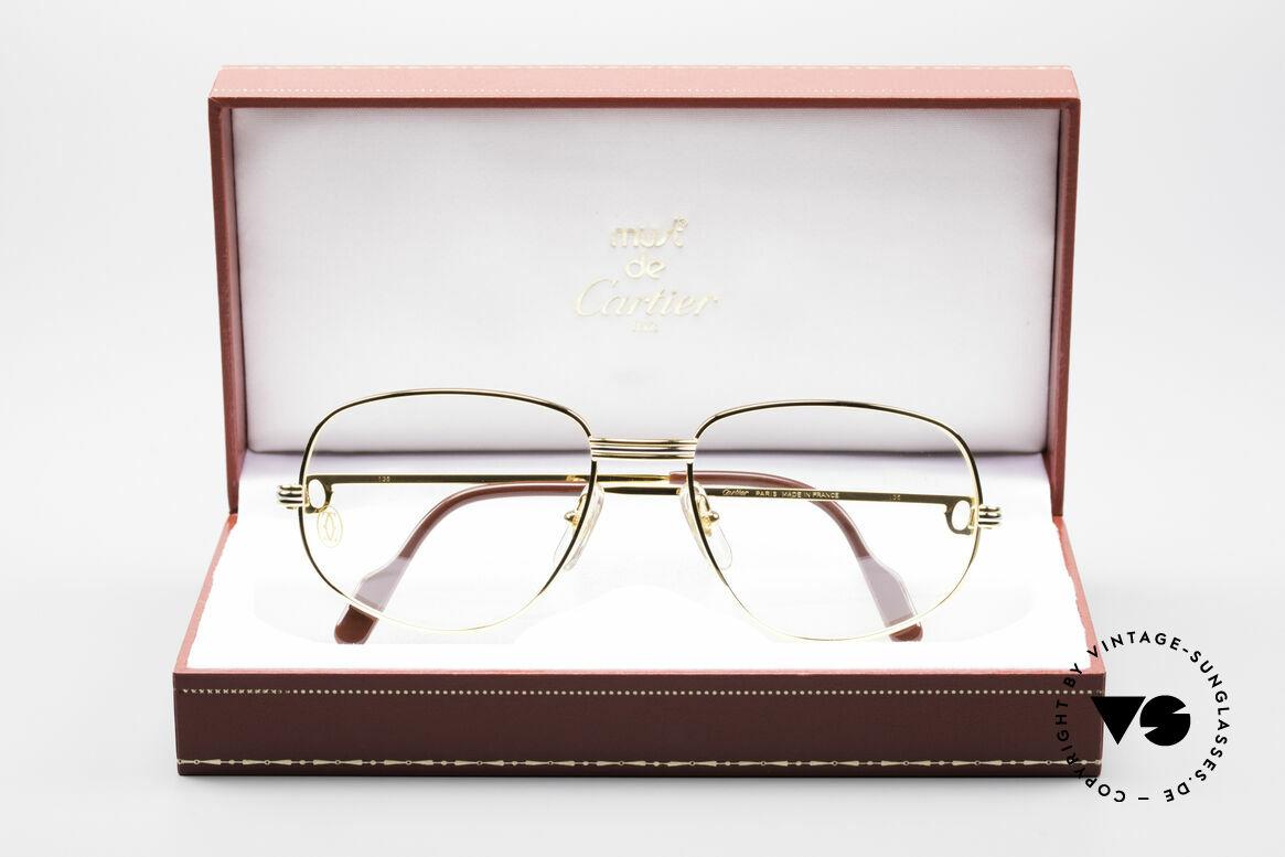 Cartier Romance LC - M Luxus Designer Fassung, ungetragen mit BOX (selten in diesem Zustand zu finden), Passend für Herren und Damen